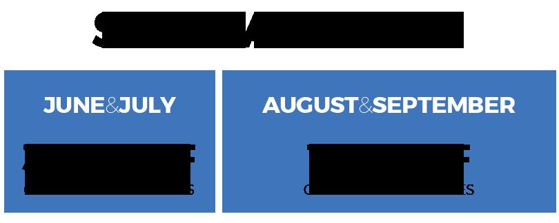 Special Offer August September